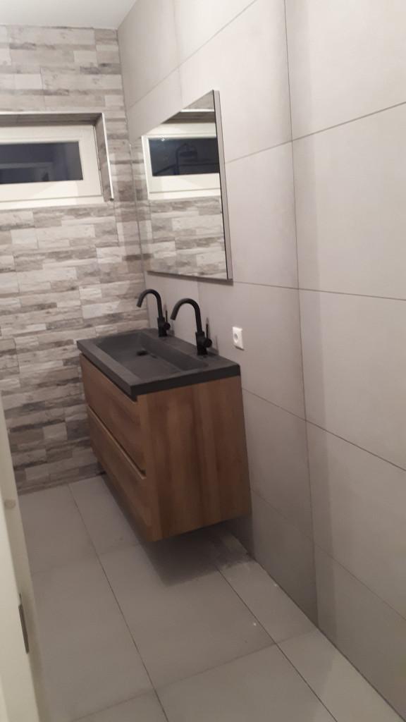 jjonkeronderhoudsbedrijf badkamer inloopdouche matzwart wastafel